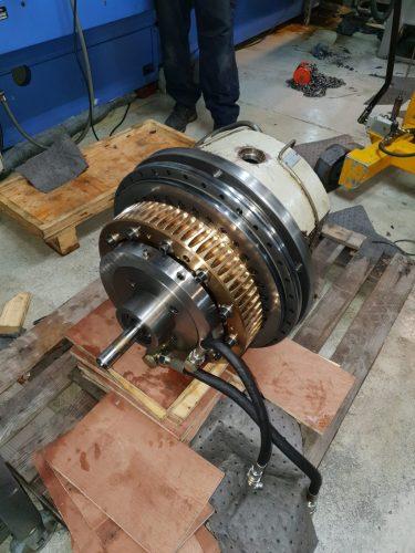 Klingelnberg gear cutting head.